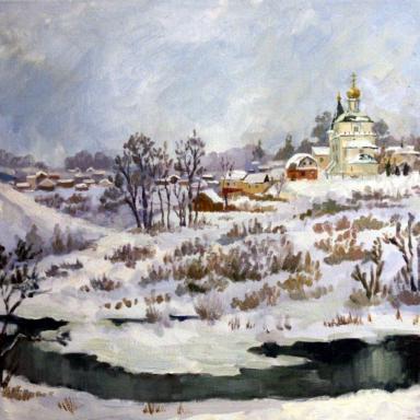 Зима в Орловской области