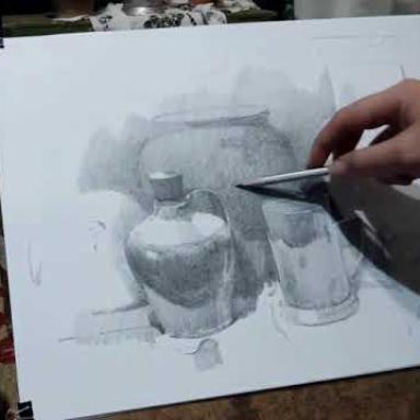 Процесс рисунка