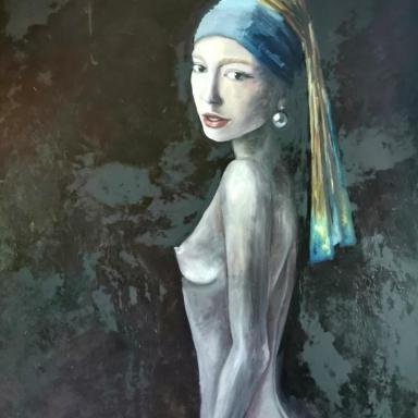 Девушка с жемчужной серёжкой (по мотивам Яна Вермеера)
