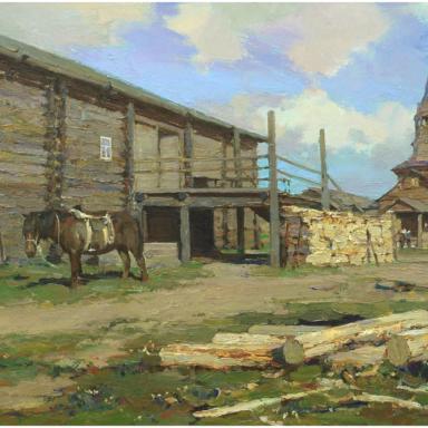 Деревня Жердь