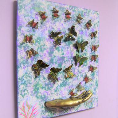 Танец бабочек Полёт бабочек