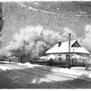 Зима в Кривом Роге