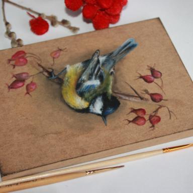 Веселая птица-синица