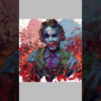 Джокер . Рисую на планшете Самсунг Гелекси Ноте 10